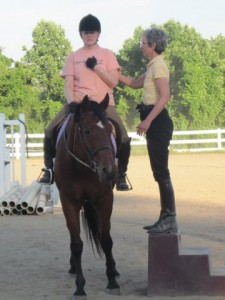 Building awareness in the saddle